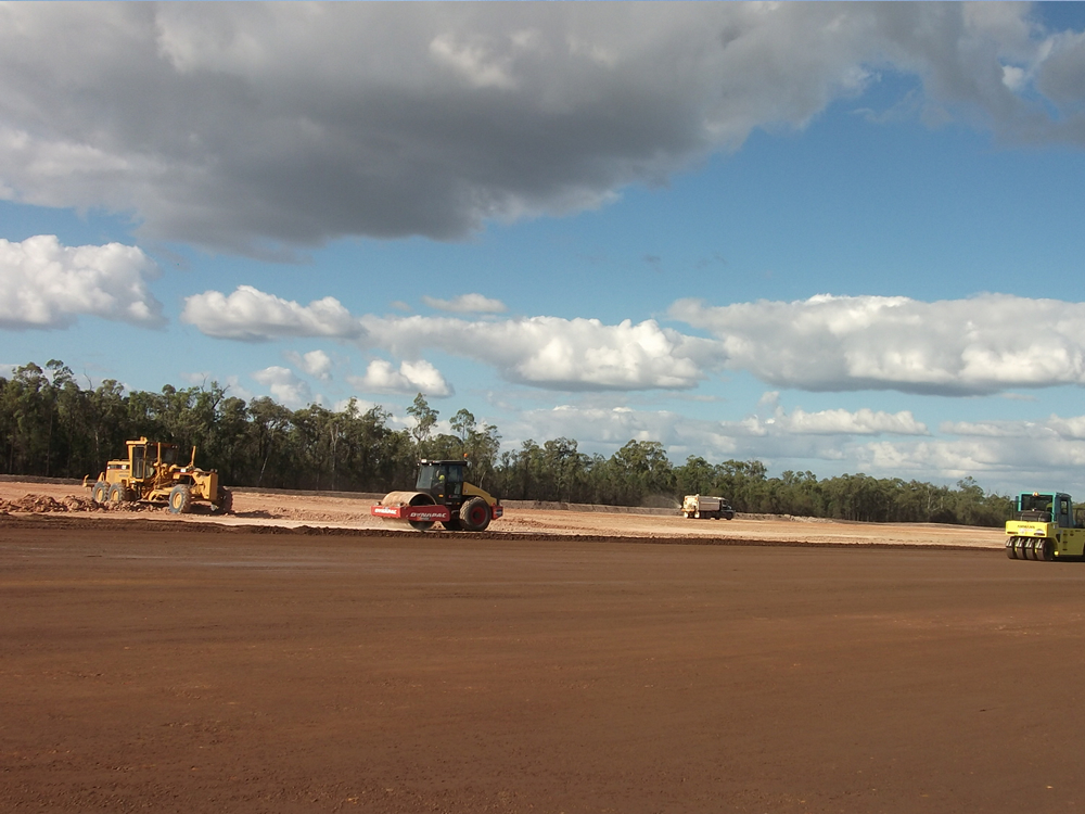 Project Kenya East Laydown Pad Residential Camp Access Road