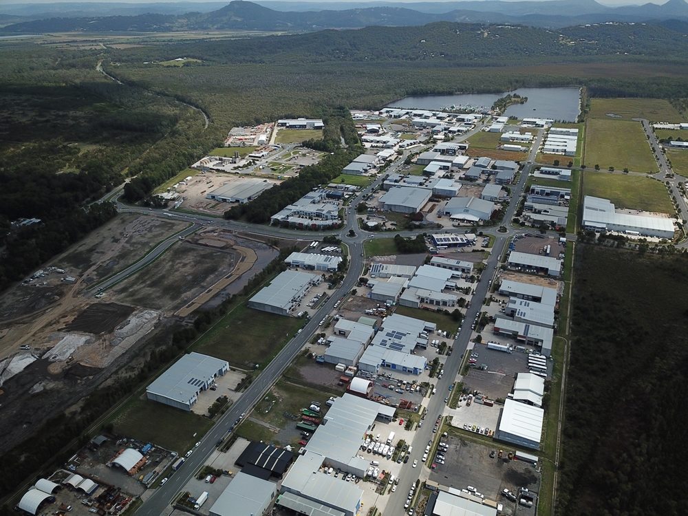 Project Quanda Road Industrial Park Coolum Beach