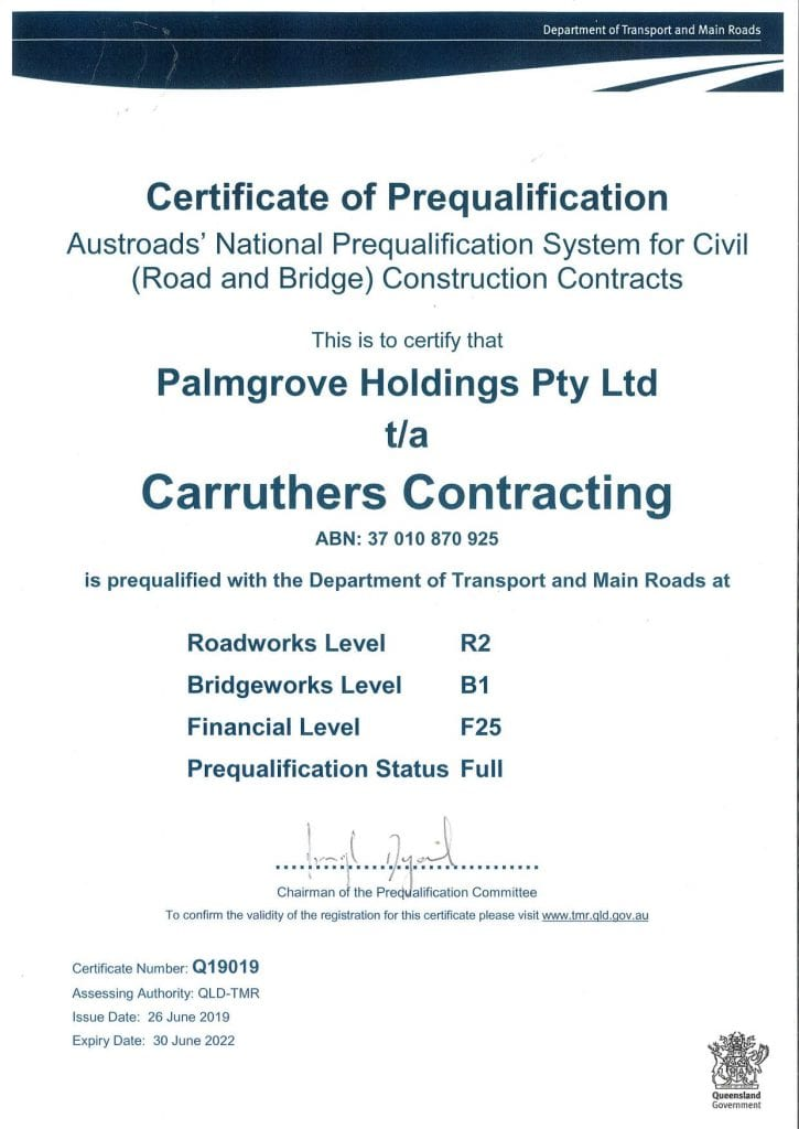 Carruthers Contracting - Civil Construction Experts